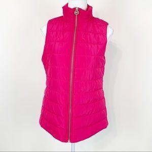 Michael kors puffer vest jacket sleeveless jacket